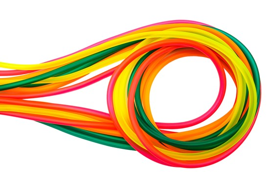 Image of Coloured Silicone Tube